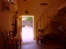 the door to the western yard