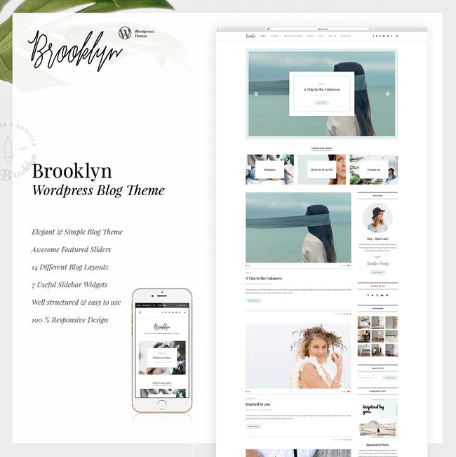 Bklyn - WordPress Blog Theme - 4