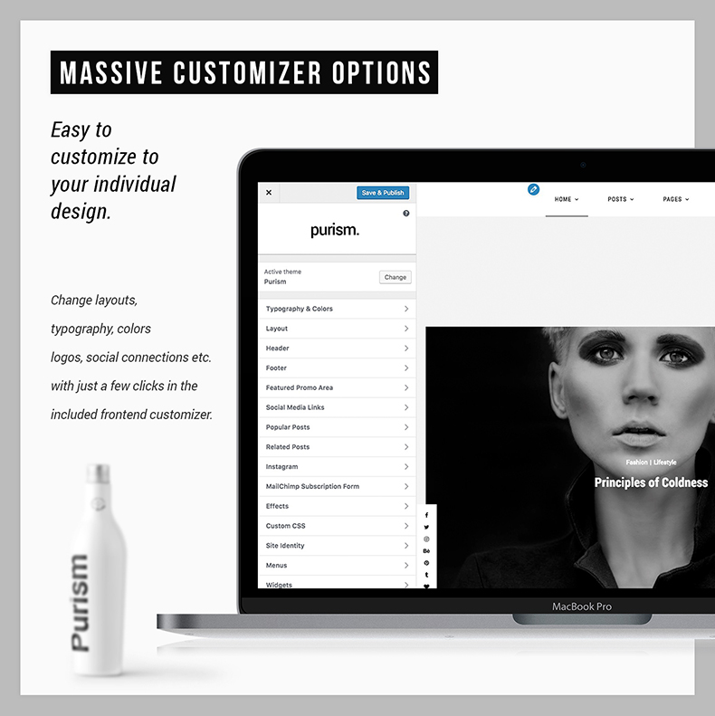Purism - WordPress Blog Theme - 20