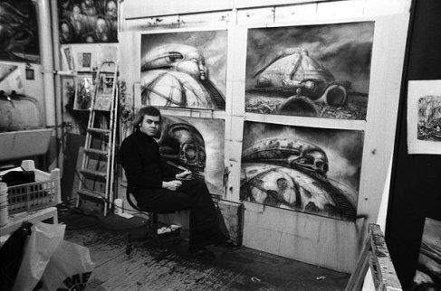 Hans Ruedi Giger (designer, Alien)