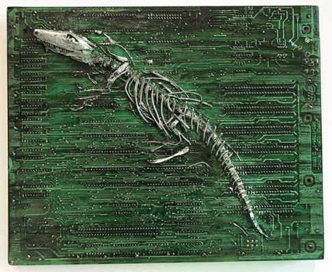 Modern-Fossils-and-Circuit-Board-by-Peter-McFarlane-15