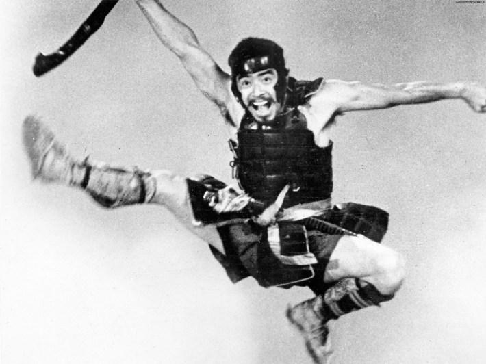 film-les-sept-samourais-Saut