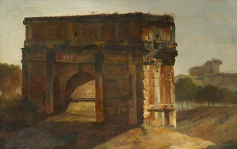 Gandy, Joseph Michael, The Arch of Septimus Severus, Rome; The Royal Institute of British Architects