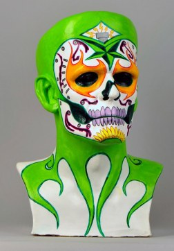 Robert Cametti Frankenstein Heads art project for St. Jude's Charity