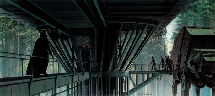 ralph-mcquarrie-starwars-endor-dock2