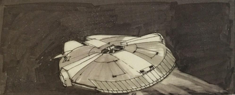 ralph-mcquarrie-starwars-milleniumfalcon-storyboard