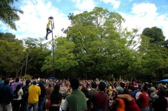 FESTIVAL MUNDIAL DE CIRCO, EDI'AO ANO DA FRAN'A NO BRASIL. LOCAL: BH, MINAS GERAIS, BRASIL. DATA: 28/06/2009 FOTO: ©ANDRE FOSSATI
