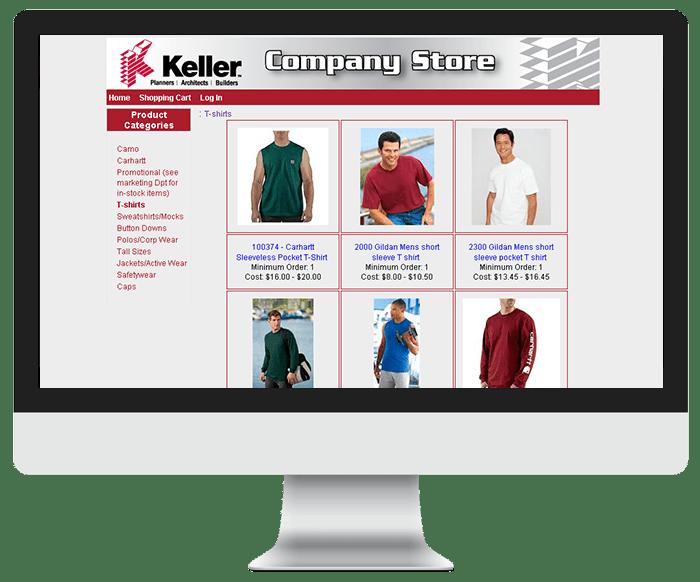 Keller Ecommerce Store