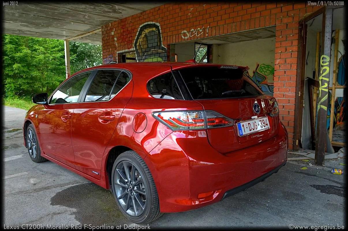 Lexus CT200h 4