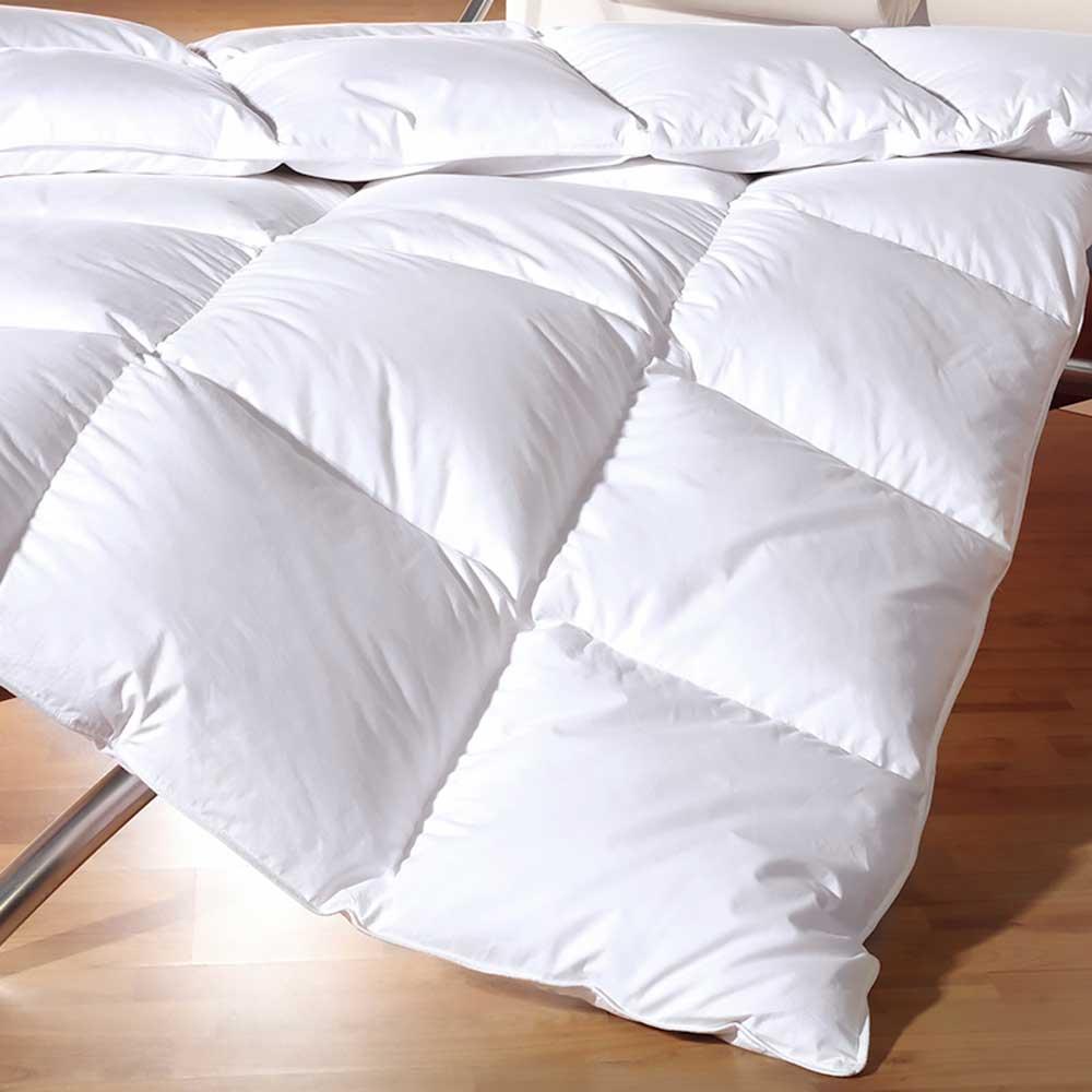 lavare i cuscini in piuma d'oca a mano. 100 Piumino D Oca Matrimoniale Goose Warm Artico Invernale Ebay