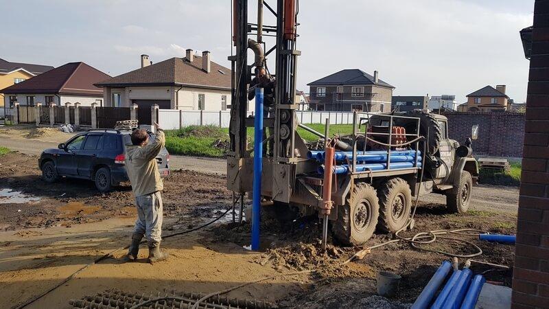 бурение скважины в краснодаре вытаскиваем обсадную трубу