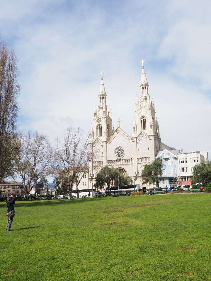 Saints Peter and Paul Church from post: Photo Walk in North Beach