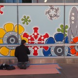 Mural SF Transit Center Opening Weekend