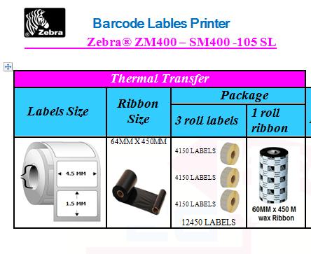 Zebra® ZM400 – SM400 -105 SL (7)