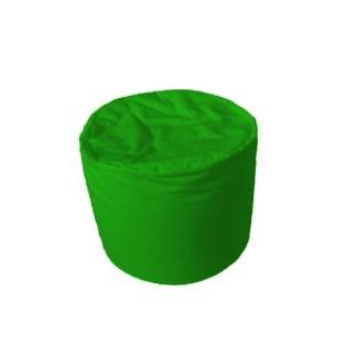 Hengeres babzsákpuff - zöld - egyedibabzsak.hu