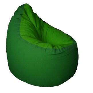 Medium babzsák - zöld-sötétzöld - egyedibabzsak.hu