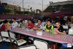 حفل افطار نادى الزهور رمضان 2017