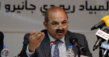 هشام حطب رئيس اللجنة الأولمبية المصرية