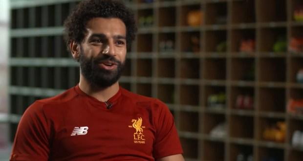 محمد صلاح يتحدث مع موقع ليفربول بعد انتقاله للنادى