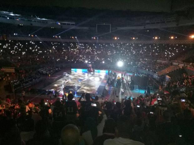 حفل افتتاح كأس العالم لكرة السلة