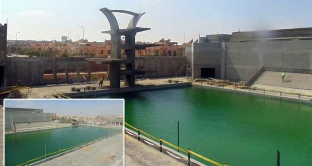 مجمع حمامات السباحة نادى الزهور التجمع الخامس