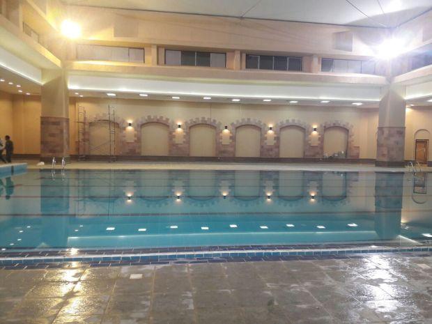 افتتاح حمام السباحة المغطى نادى الزهور التجمع الخامس