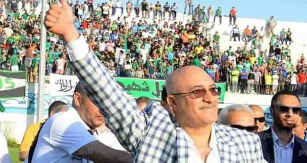 سمير حلبية رئيس النادى المصرى البورسعيدى
