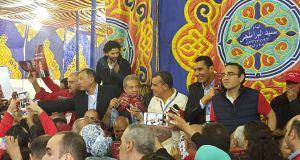حسام غالى يساند الخطيب فى انتخابات النادى الاهلى