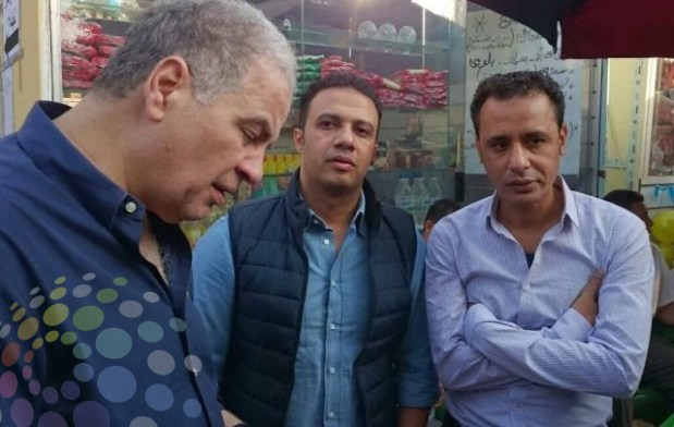 هانى زادة وطارق السيد فى انتخابات نادى النصر لدعم عمرو عبد الحق