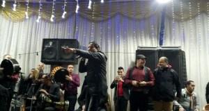 احمد شيبة فى حفل نادى الترسانة فى رأس السنة 2018