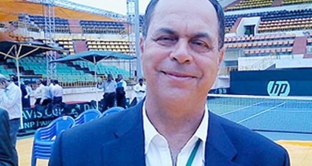 اسماعيل الشافعى، رئيس اتحاد التنس الارضى
