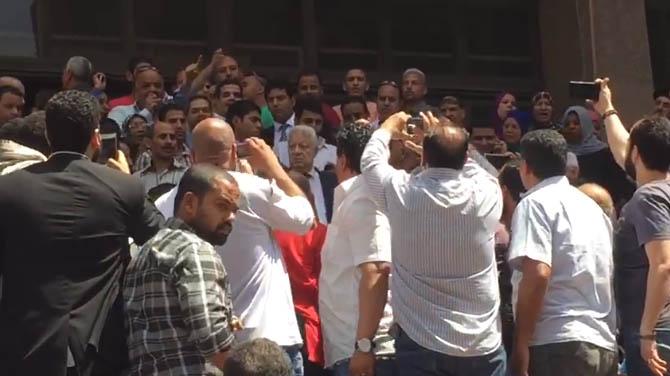 مرتضى منصور: أمين صندوق نادى الزمالك بـ 100 وزير رياضة