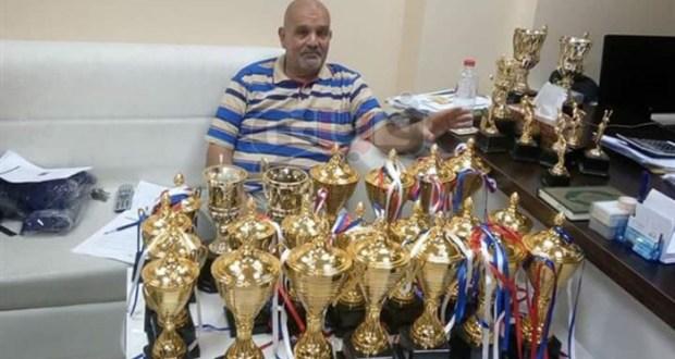 اسامة عبد الخالق مدير النشاط الرياضى بنادى وادى دجلة