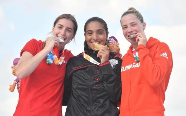 سلمى عبدالمقصود تحقق ذهبية الخماسي الحديث بأولمبياد الشباب