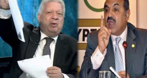 مرتضى منصور وهشام حطب