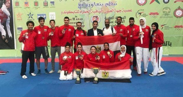 البطولة العربية للتايكوندو