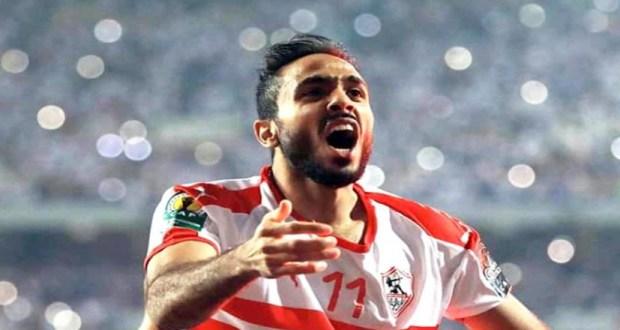 محمود كهربا لاعب نادي الزمالك