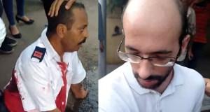 استشهاد امين شرطة امام نادي الجزيرة الرياضي