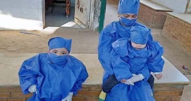إصابة طفلين بفيروس كورونا