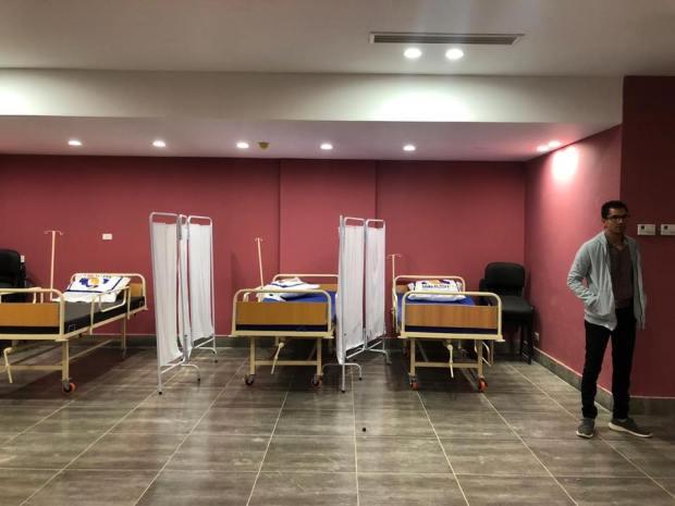 نادي الجزيرة يخصص مبني لعزل مصابي فيروس كورونا