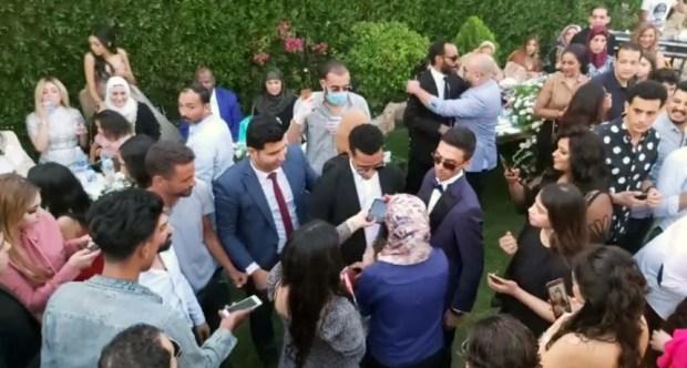 حفل زفاف شقيقة محمد رمضان