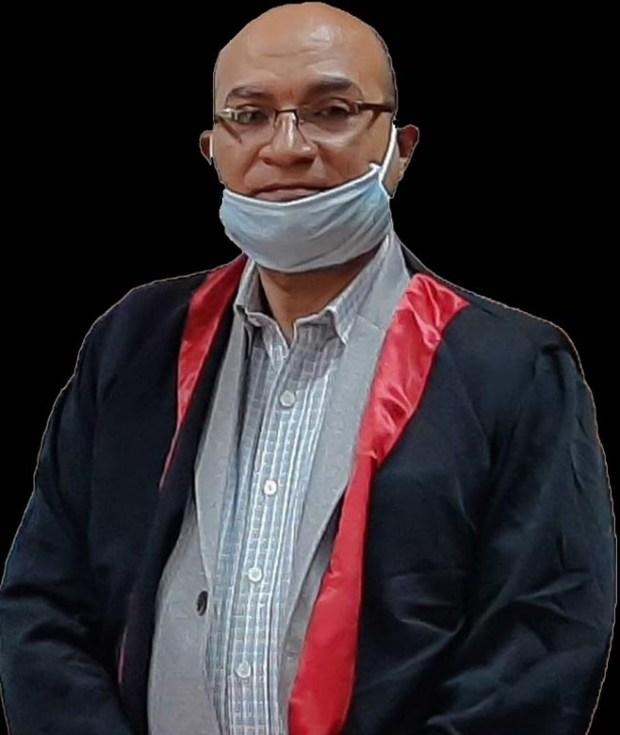 الدكتور أسامة أمين البرماوى، أستاذ الانف والاذن والحنجرة بطب طنطا