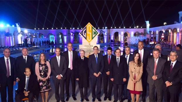 إفتتاح نادى الجزيرة فرع 6 اكتوبر بحضور رئيس الوزراء ووزير الرياضة