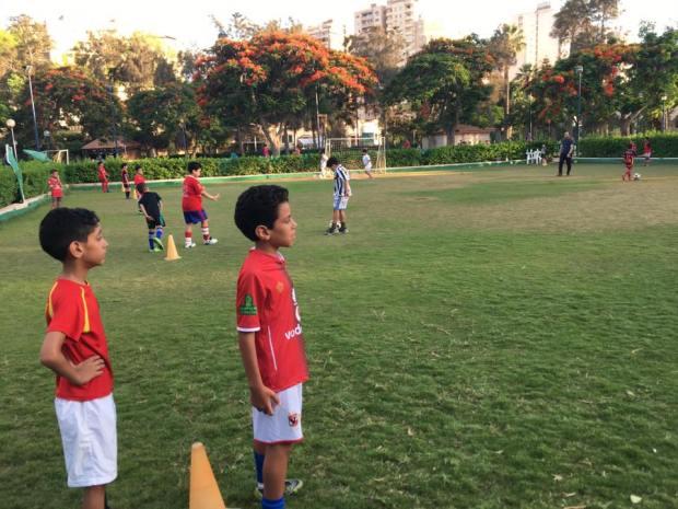 تدريبات كرة القدم نادي جرين لاند المنتزة
