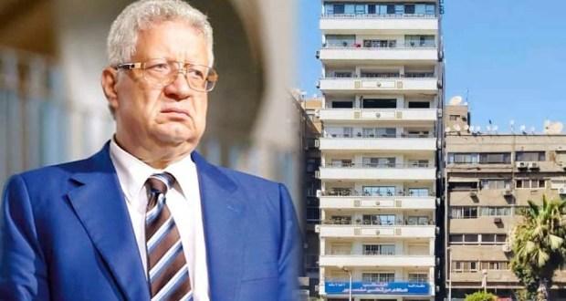 مخالفات بناء عمارة مرتضى منصور