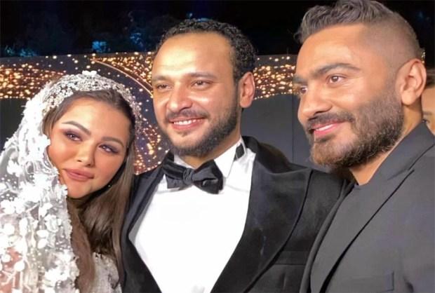 تامر حسني في فرح هنادي مهنا واحمد خالد صالح