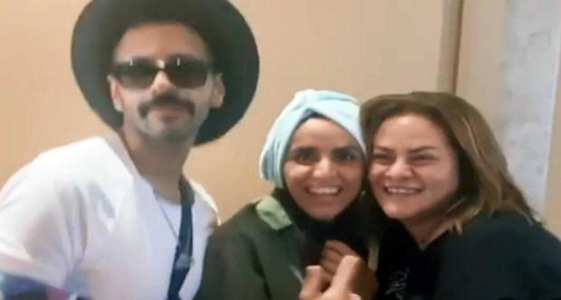 علا رشدي وكاملة أبو ذكري وحسن أبو الروس فى اول أيام مهرجان الجونة