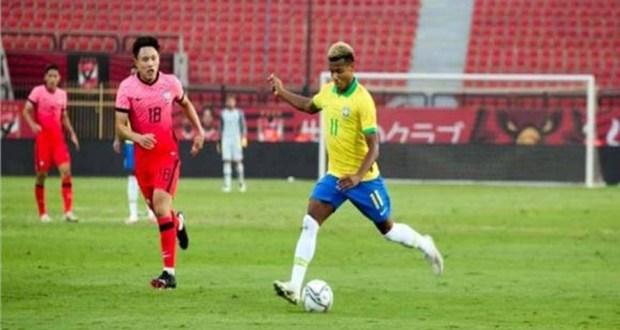 مباراة منتخب البرازيل وكورويا الجنوبية تحت 23 سنة