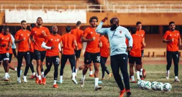 تدريبات الفريق الاول لكرة القدم بالنادي الأهلي