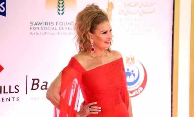 يسرا في مهرجان القاهرة السينمائي في دورته 42 في 2020